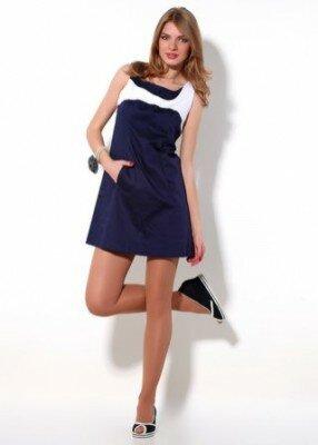 короткое платье расклешённое к низу