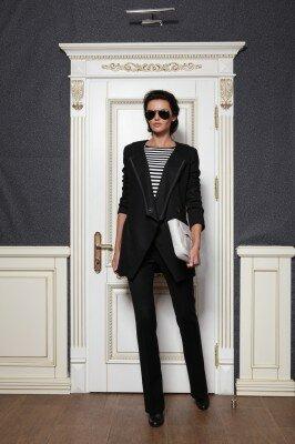 пиджак с отложным воротником до пояса на одной пуговице цена