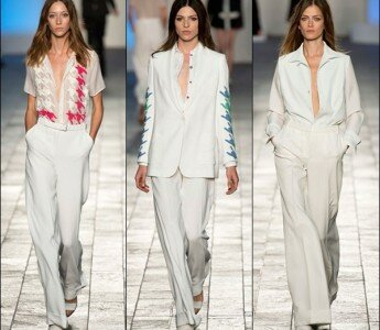 Модные блузы весна-лето 2014