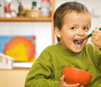 10 важных продуктов, для рациона ребенка