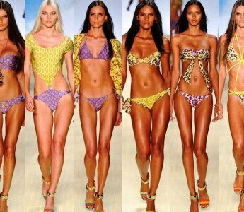 Купальник в объективе:Модные купальники тренды лета 2014