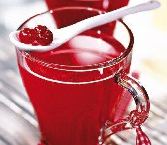 Освежающий напиток: смородино — мускатный пунш