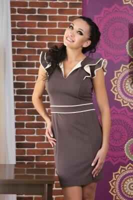 платье нарядное в обтяжку с белым короткое цена