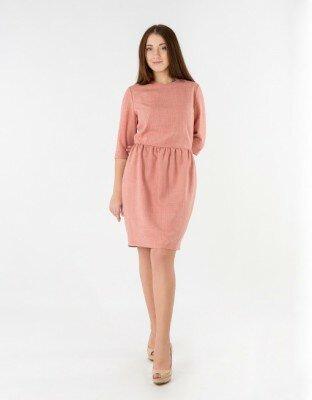 коралловое короткое платье цена