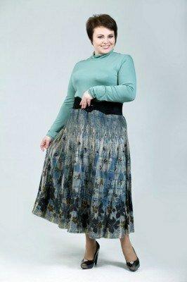 пышная длинная юбка большого размера