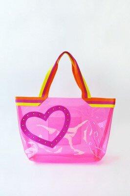 сумка розовая с сердечком цена