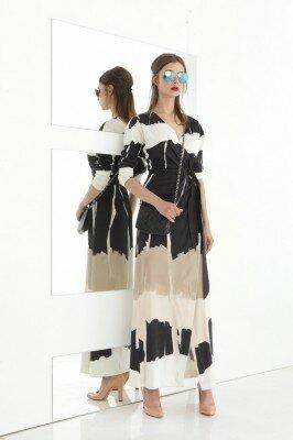 стильное летнее платье с запахом цена