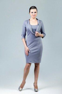 платье трикотажное с горлом цена
