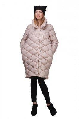 пальто бежевое балоневое цена