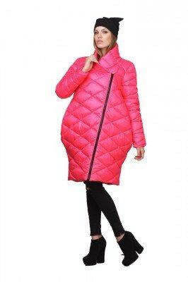 пальто малиновое балоневое цена