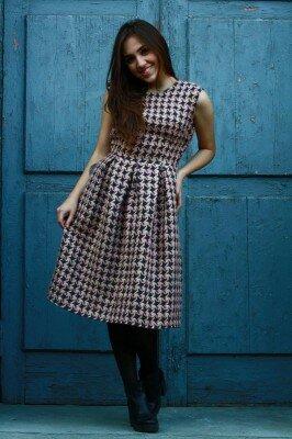 платье в стиле шанель купить