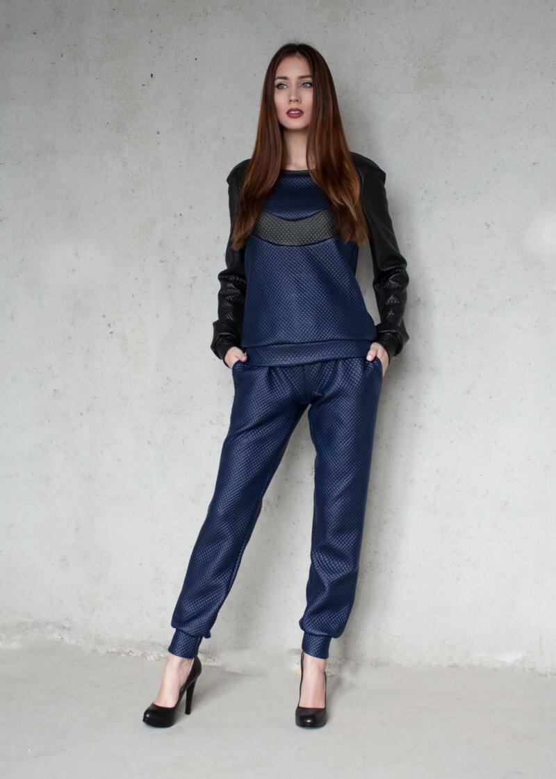 Брюки с карманами на манжетах от Natalia Kravchenko цена