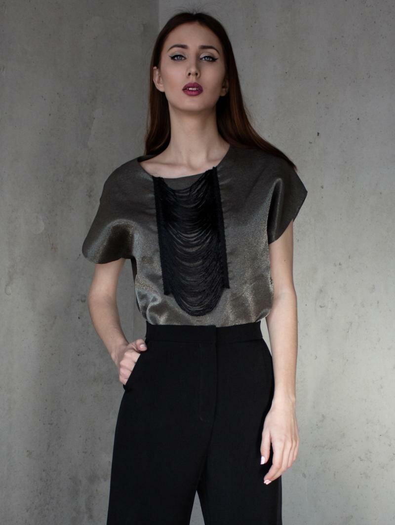 Вечерняя блуза от Natalia Kravchenko купить