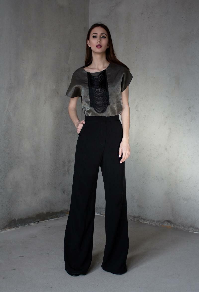 Модные широкие брюки от Natalia Kravchenko купить