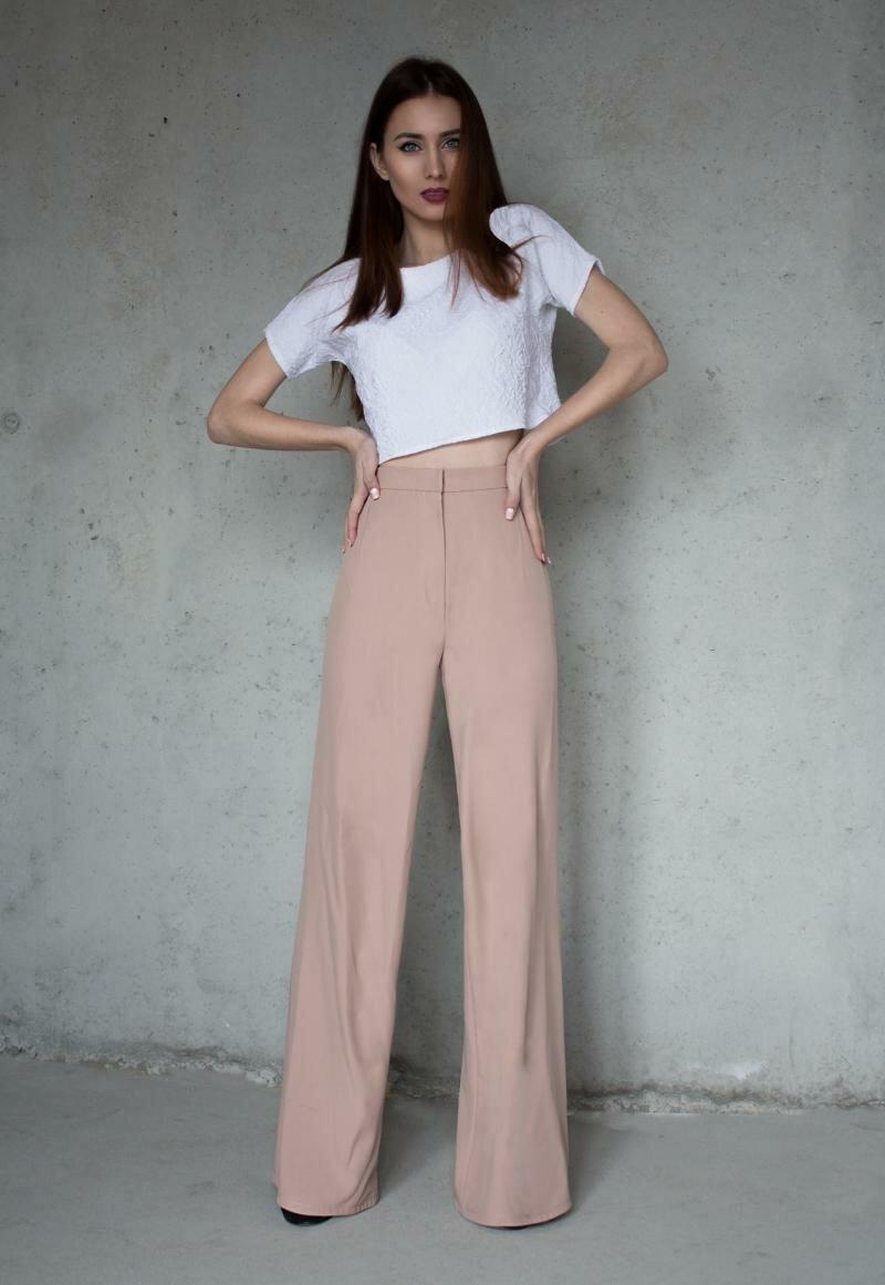 Широкие стильные брюки от Natalia Kravchenko купить