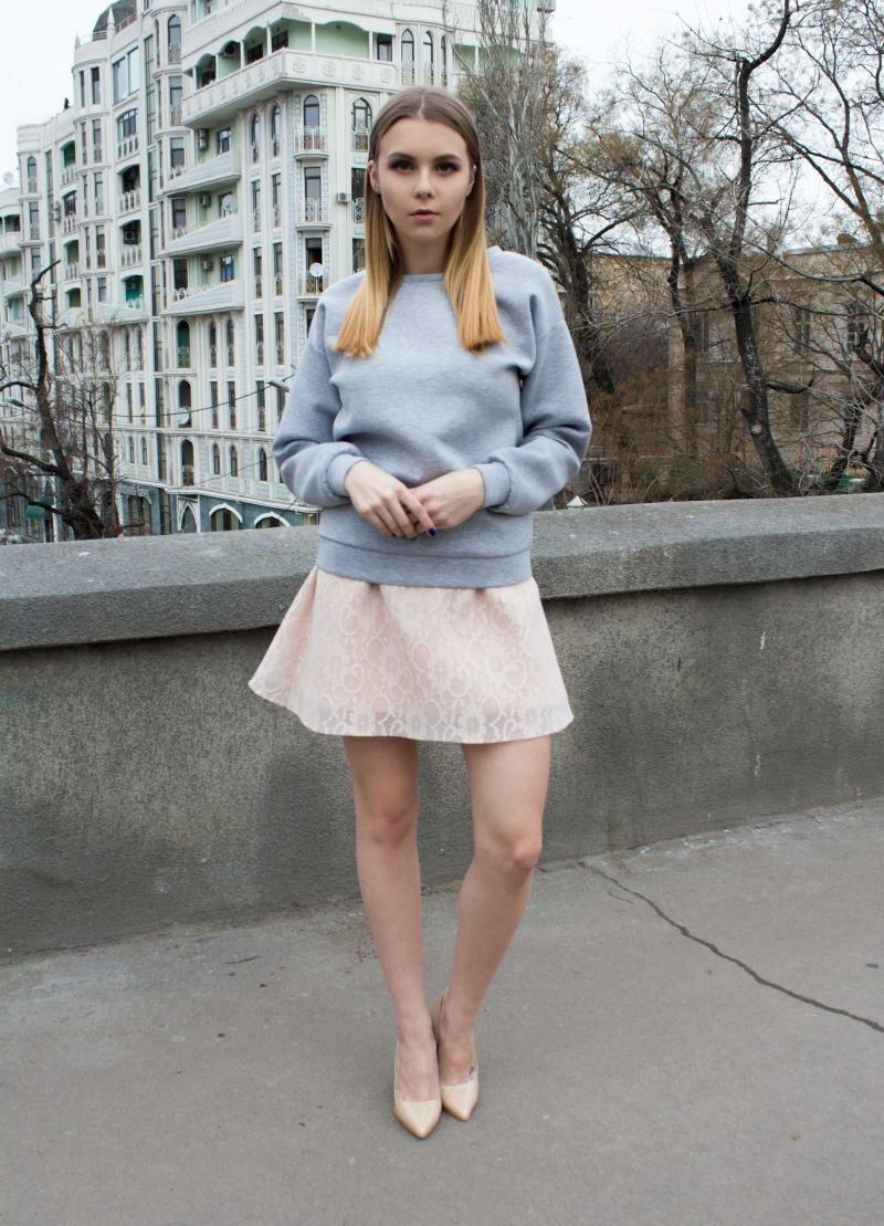 Мини юбка кружевная от Natalia Kravchenko