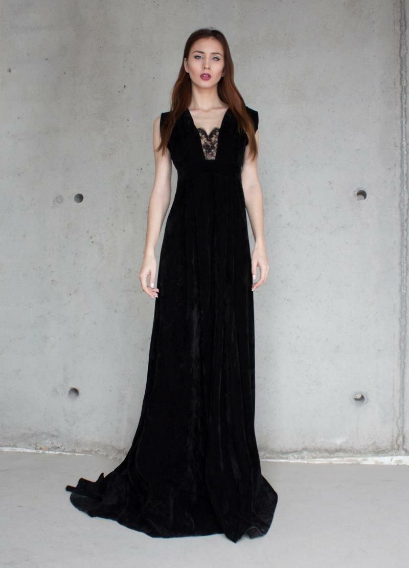 Платье в пол от Natalia Kravchenko
