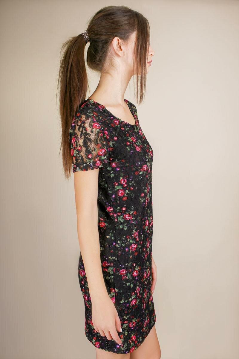 купить платье из гипюра