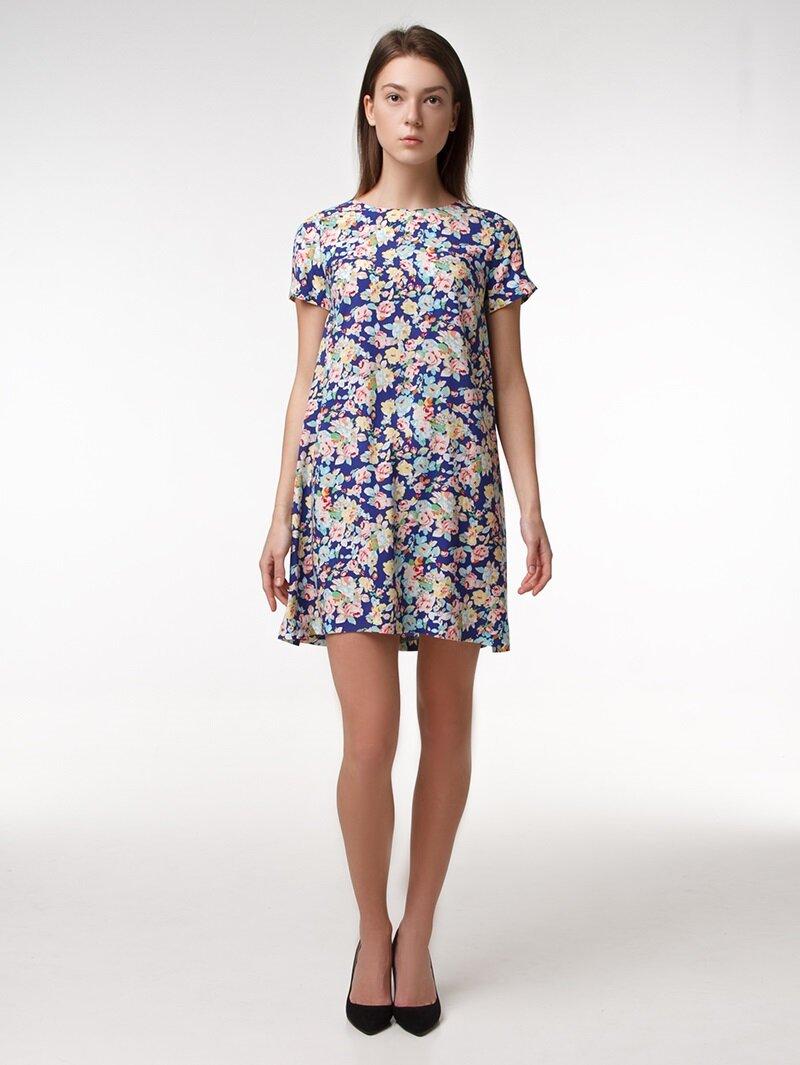 Платье цветочного принта купить