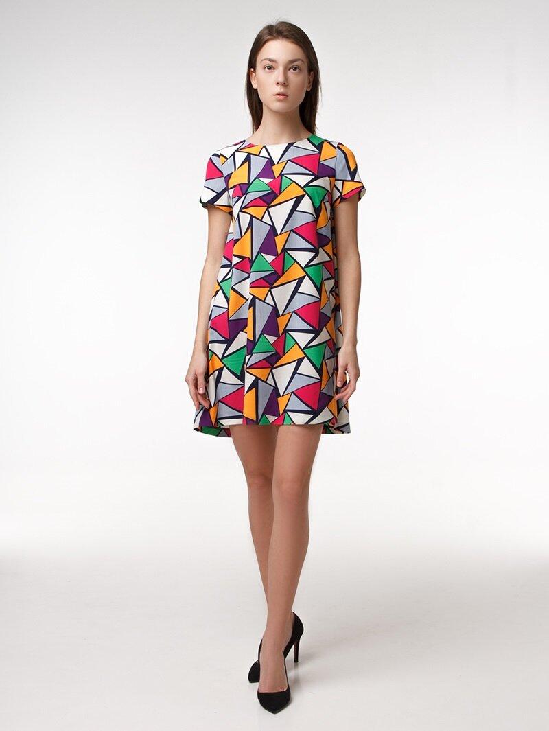 Платье геометрия купить